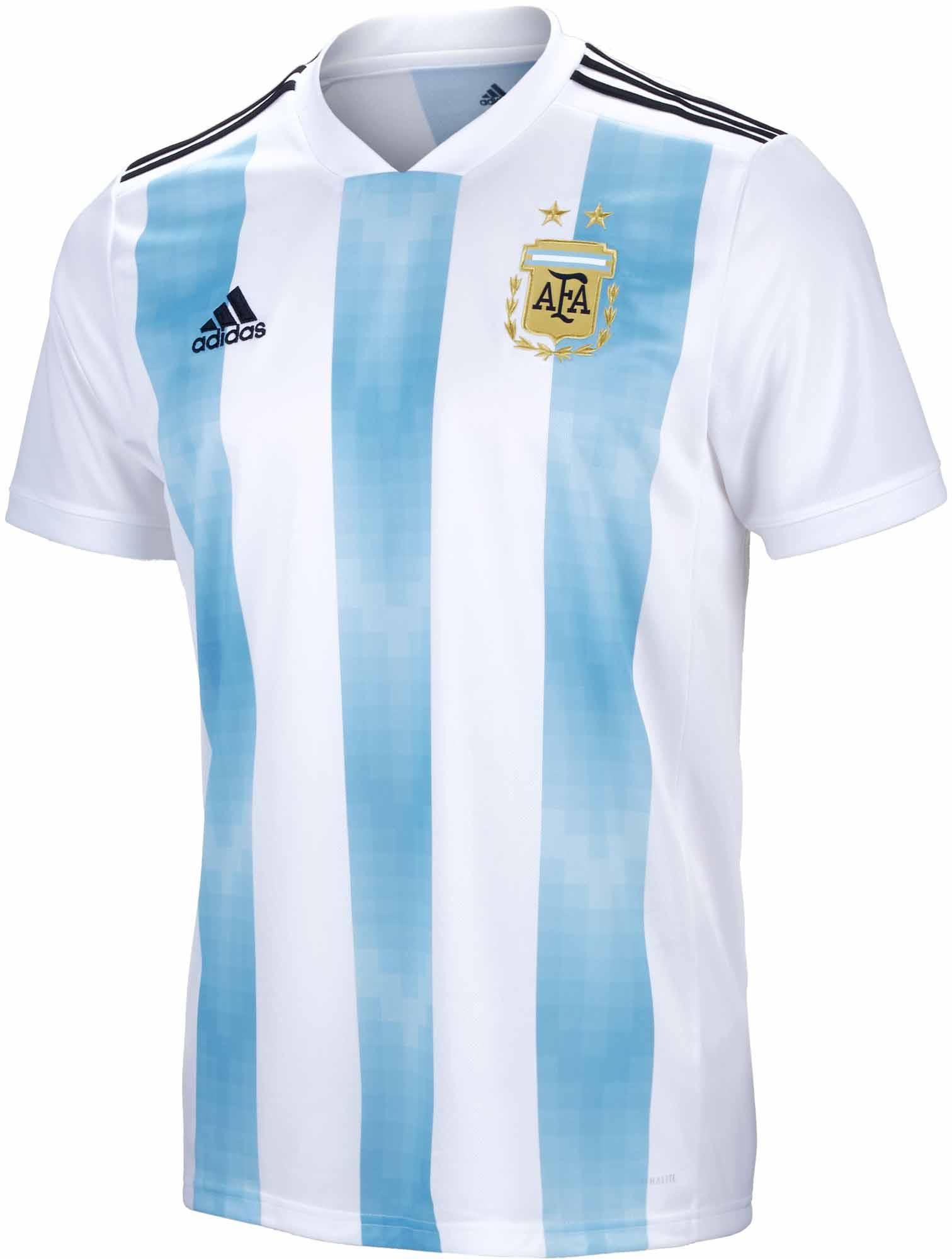 Retencion Engaño Indomable  Adidas Youth Argentina Home Jersey – BQ9288 - Football Depot